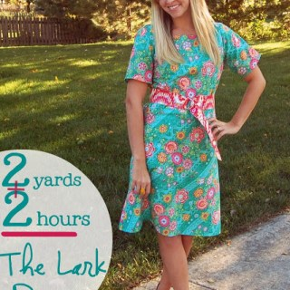 Two Yard Dress Tutorial