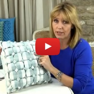 Canadian Smocked Box Cushion Tutorial