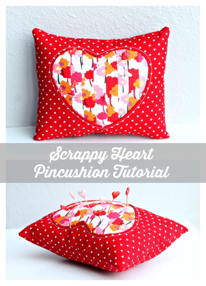 Scrappy Pincushion Tutorial - Sewtorial