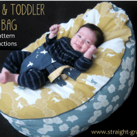 Baby and Toddler DIY Bean Bag