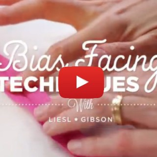 Learn the proper technique for adding bias facing to the edge of your garments with this video tutorial by Liesl Gibson of Creative Bug - Sewtorial