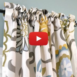 Here's a great beginner project from Online Fabric Store. Learn to make this easy DIY curtain in this quick video tutorial. - Sewtorial