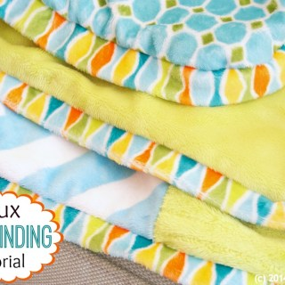 Looking for an easier finish for your quilt? Sew Can Do shows how to create a faux binding that has the same look as a traditional binding. -Sewtorial