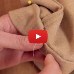 Learn how to hem pants with this video tutorial by CGM - Sewtorial