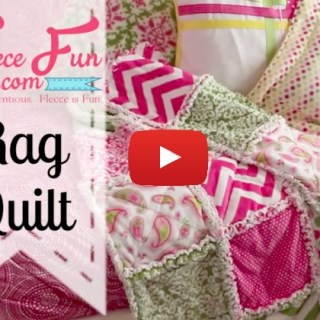 In this 6 part video series by Fleece Fun, you'll learn how to make a rag quilt including instructions on how to wash your finished quilt. -Sewtorial
