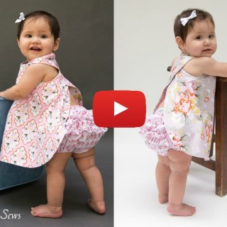 In this pinafore and bloomers tutorial by Melly Sews you'll learn to make this adorable reversible 2-piece. -Sewtorial