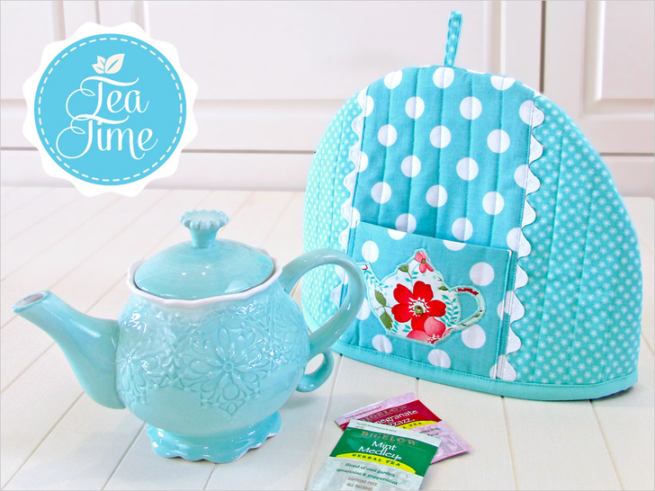 tea cozy  Here's a fun little project to take your tea time to the next level. Sew4Home shares a Pretty Tea Cozy to keep things nice and warm. - Sewtorial