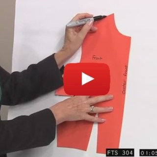 In this video tutorial, Peggy Sagers shows the sewing pattern rules for adjusting and manipulating your pattern to create the perfect fit. -Sewtorial