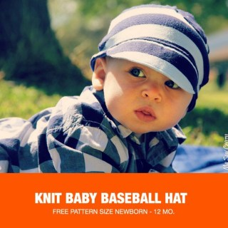 Baby Knit Baseball Caps