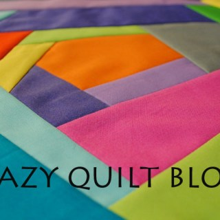 Love quilting? Modern Quilting shares an easy tutorial for creating this fun Crazy Quilt Block.- Sewtorial