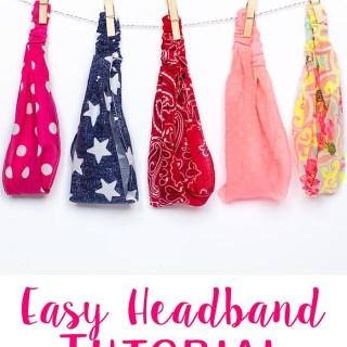 Easy Elastic Headbands