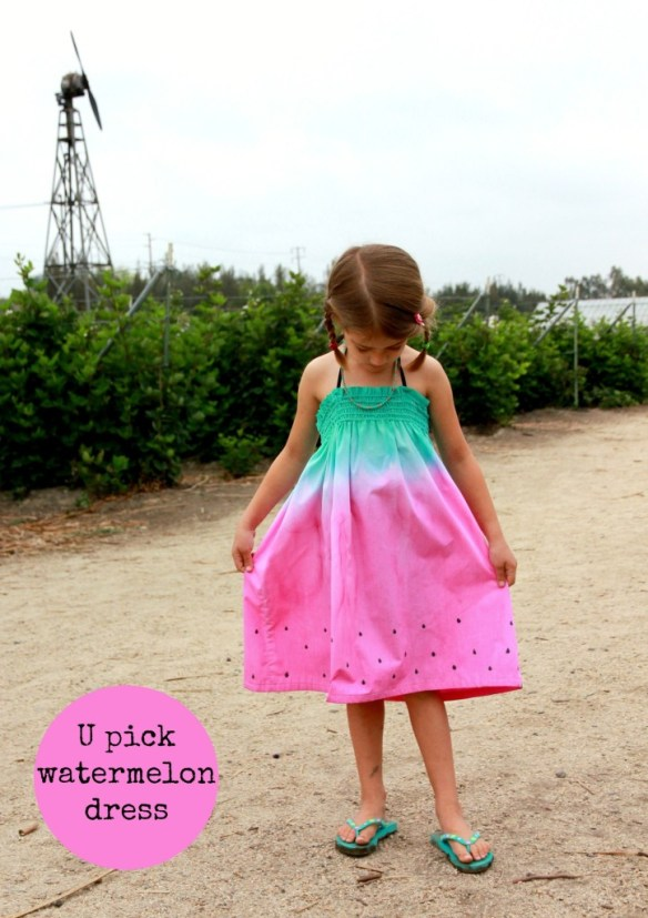 The Watermelon Sundress by Sew Country Chick is beginner friendly and a quick sew. -Sewtorial