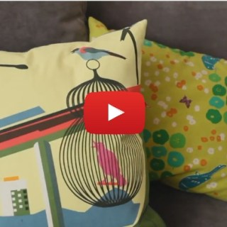Watch this video by Brett Bara to learn how easy it is to make a DIY zippered pillow. -Sewtorial