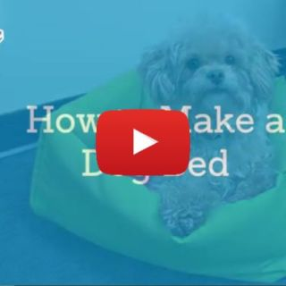 Pamper your pooch with a comfy cozy bed. Sailrite shows how to create one in 3 different sizes using this dog bed tutorial. -Sewtorial