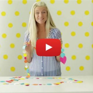 Here's a fun project! Dana from MADE shares a fun video tutorial on how to make felt garland. -Sewtorial