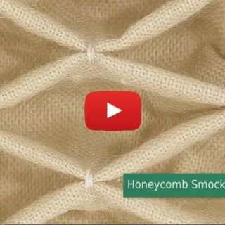 Customize your next project using this honeycomb smocking technique demonstrated by Professor Pincushion. -Sewtorial