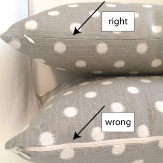 Learn how to install an invisible zipper properly on a pillow in this step-by-step tutorial by Jona Giammalva. -Sewtorial