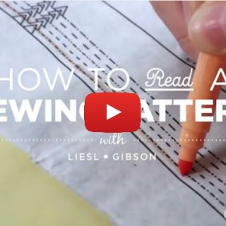 In this video, Liesl Gibson deciphers the mysterious language of sewing patterns and shows you how to read a pattern with confidence. -Sewtorial