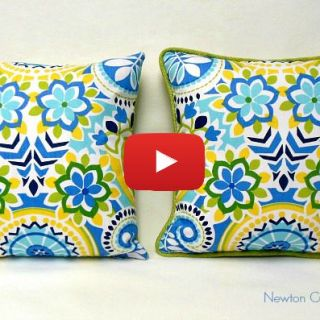 Step up the look of a basic pillow with cording. Newton Custom Interiors shows how to add cording to a pillow in this easy video tutorial. -Sewtorial