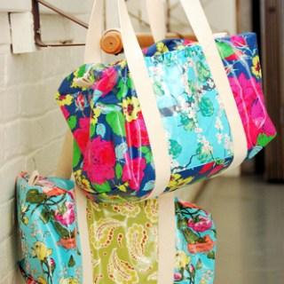 Ruffle Duffle Bag