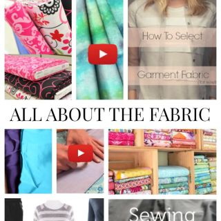 We've pulled together some great fabric tutorials from our archives to help you learn about fabric and select the best ones for your projects. -Sewtorial