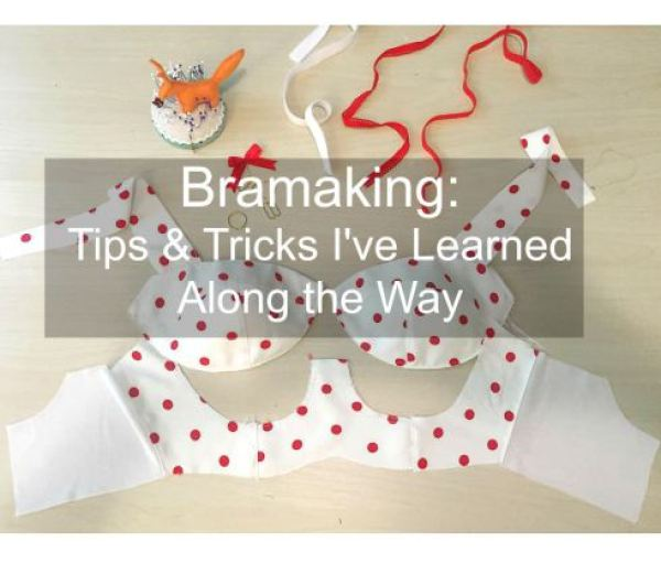 Finding the perfect fitting bra can be a challenge. If you've ever considered making your own, then you'll love these bra making tips from Lladybird. -Sewtorial