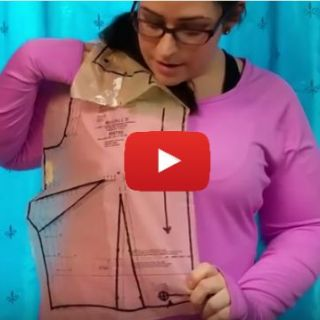 Bust adjustments are a way of manipulating a pattern to get the best fit for you. Learn how in this video tutorial by Sewing Parts Online. -Sewtorial