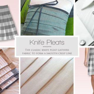 Knife Pleats