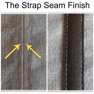 Create a beautiful finish for the inside of your garments using this strap seam tutorial by Makery. - Sewtorial