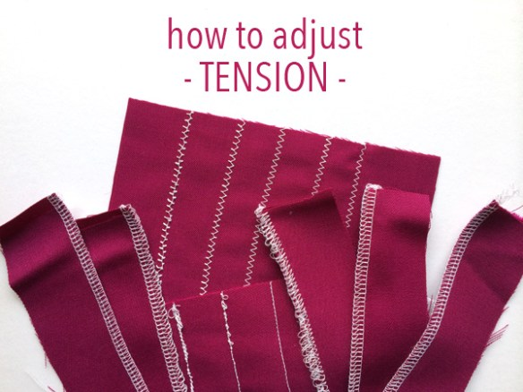 Weird puckers are a common result of tension issues. In this tutorial by Craftsy, you'll learn how to adjust tension to create smooth stitches. -Sewtorial
