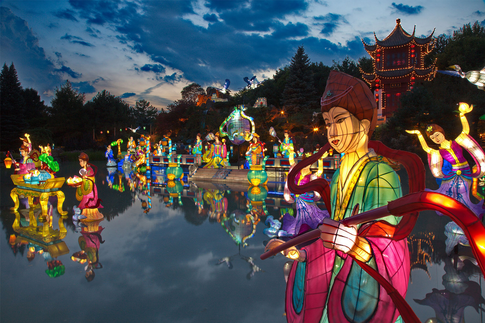 Magic Of Lanterns Go Montreal Tourism Guide
