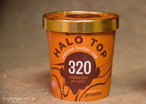 Medium Of Halo Top Peanut Butter Cup
