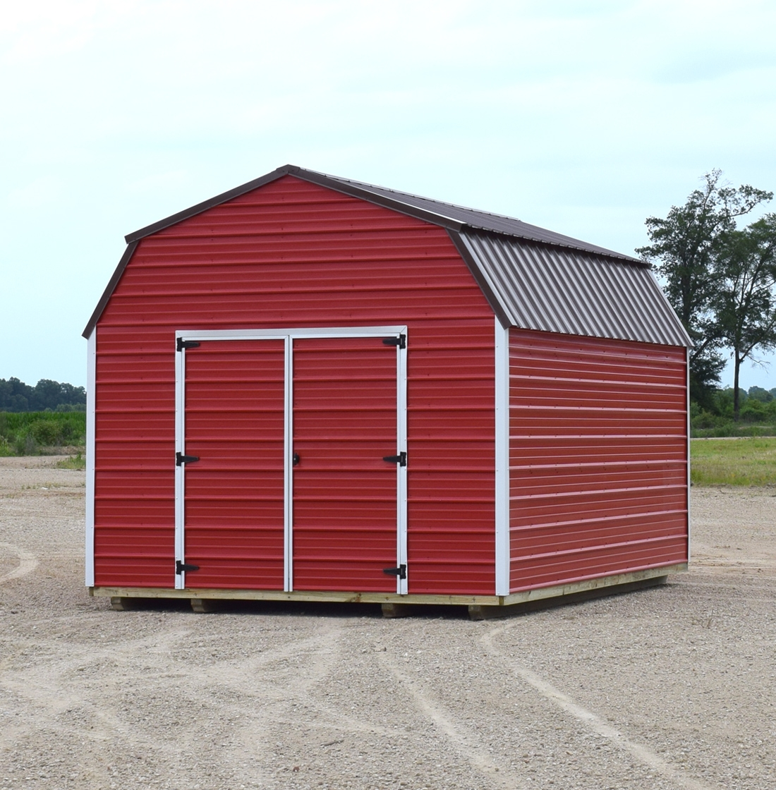 Barn Metal Metal Lofted Barn United Portable Buildings