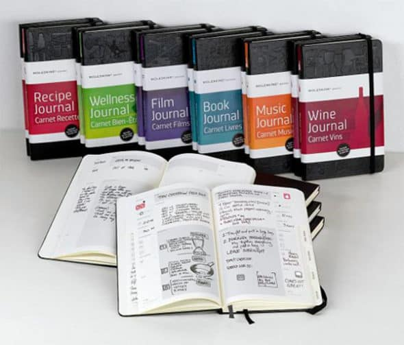 Moleskine Passions Journal Review and Giveaway Open Worldwide - recipe journals