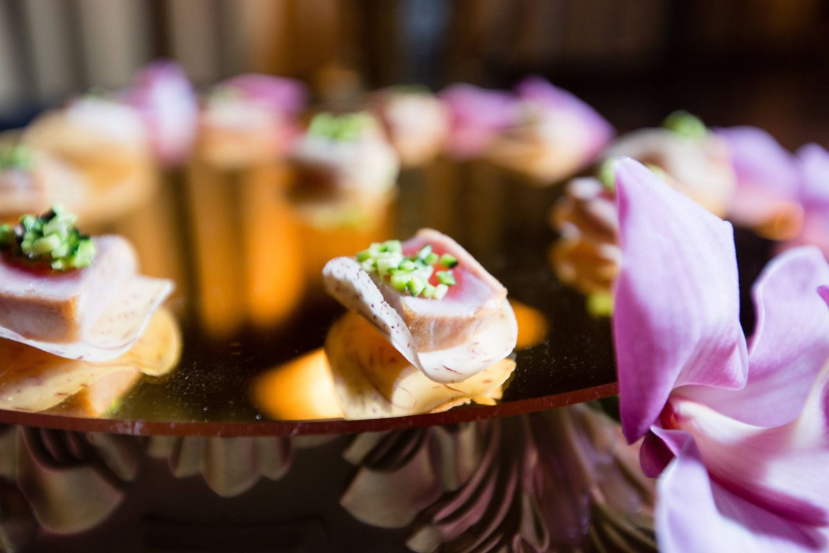 Canapé But Broadway Broadway Mitzvah At Cipriani 42nd Street Gourmet Advisory