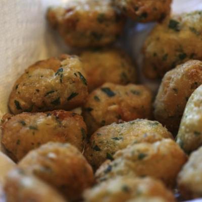 Codfish Fritters (Bolinhos de Bacalhau)