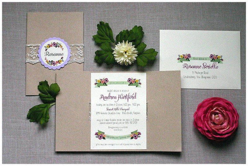 Large Of Rustic Bridal Shower Invitations