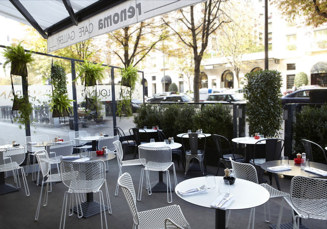 Restaurant Terrasse Paris 20 Brunch Au Renoma Cafe Gallery Gourmets Andco