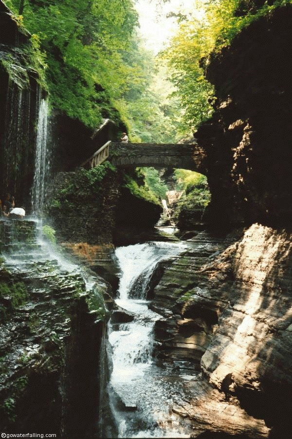 Fall In New York Wallpaper Watkins Glen State Park