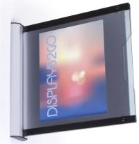 8.5x11 Wall Mounted Sign Holders   Acrylic Lenses