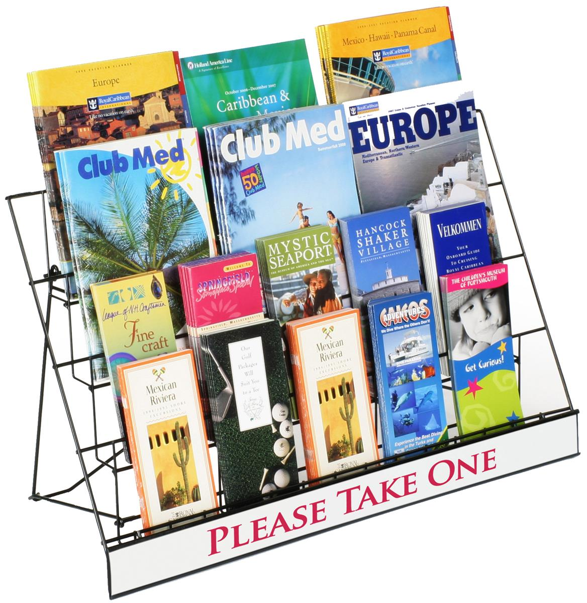 Countertop Book Display These Countertop Displays Are Ideal For Presenting Many