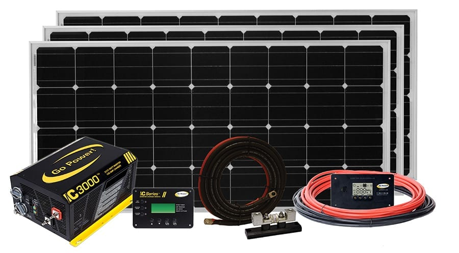 Solar Extreme Charging System - 510 watts Go Power Products