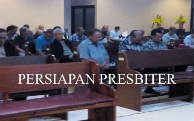 Persiapan Presbiter 16 Sep