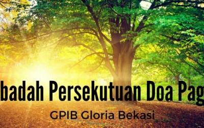 Ibadah Persekutuan Doa Pagi 17 Sep