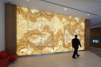 Backlit Onyx Panels   Illuminated Surfaces   GPI Design