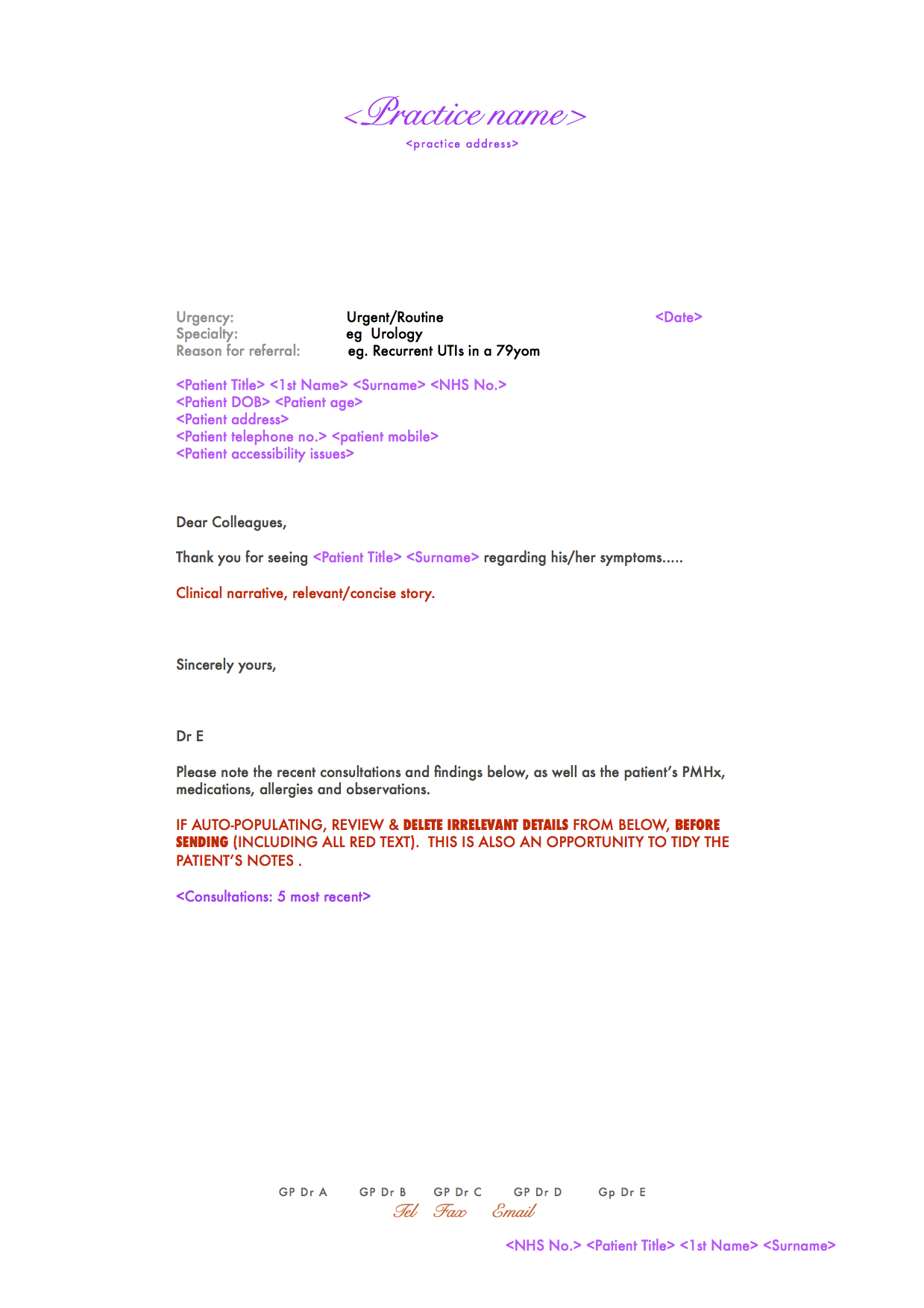 Referral Letter Template Draft Minimum Dataset V1 27 10