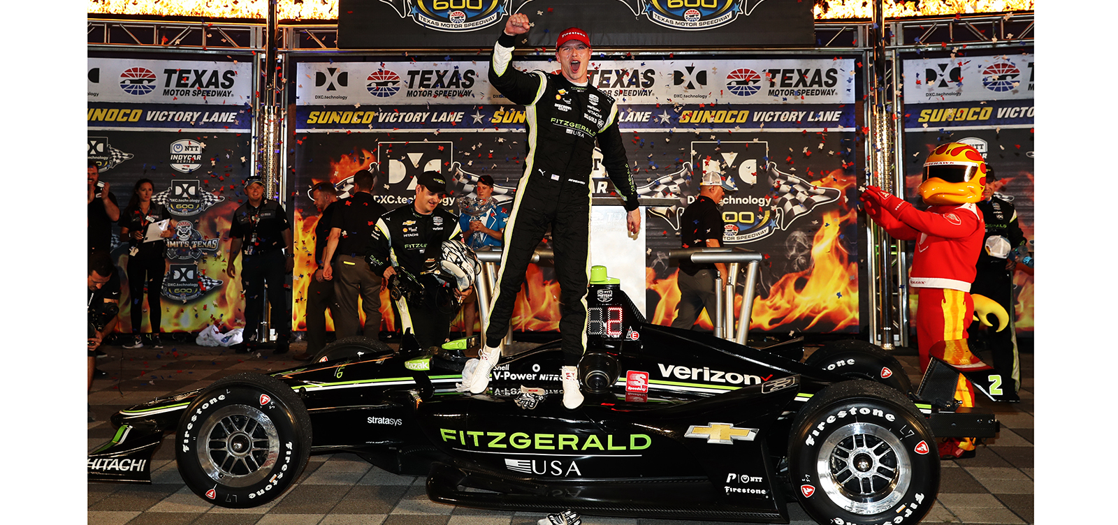 Banc A Charge Guidee Newgarden Makes Late Charge To Win In Texas Acura Grand Prix Of