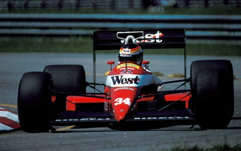 Bernd Schneider qualified the Zakspeed 891 Yamaha for the 1989 season opener in Brazil, but it was a false dawn.