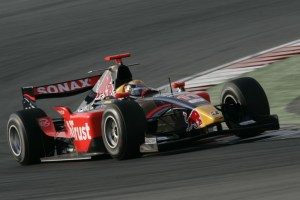 Buemi making his Arden debut in GP2 Asia.