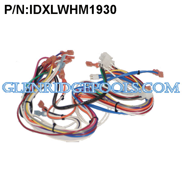 IDXLWHM1930  Hayward Heater H-Series Wire Harness P/N IDXLWHM1930